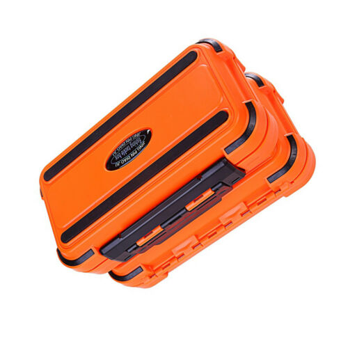 HK 24 Compartment 2 Layer Waterproof Fishing Lure Bait Tackle Storage Box Case
