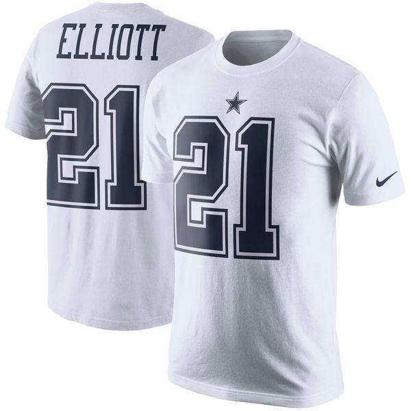 0ce77dda2d Nike Ezekiel Elliott  21 Dallas Cowboys Extra Large Shirt Zeke XL