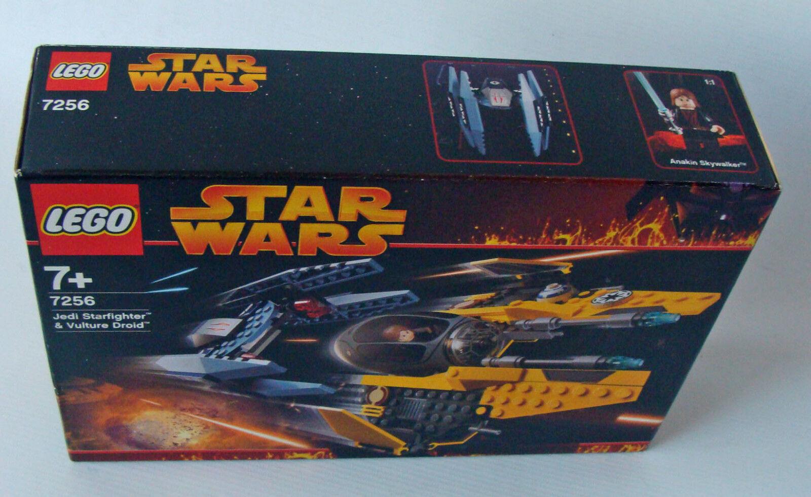 la migliore moda LEGO ® Estrella Guerras Guerras Guerras 7256-Jedi stellari & Vulture Droid 202 parti 7+ NUOVO nuovo  autentico