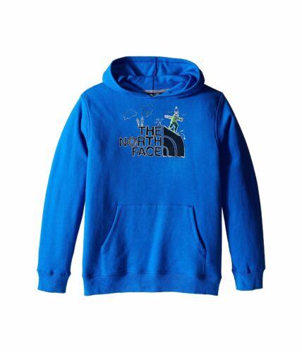 2016-17 The North Face BOY/'S Logowear Pullover Hoodie Fleece Jake Blue 49W