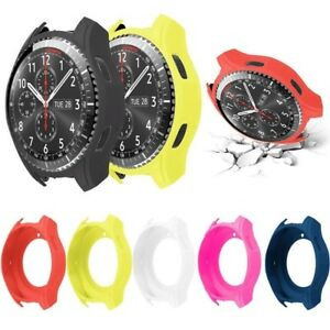Soft-Slim-Case-Cover-Silicone-Smart-Watch-For-Samsung-Gear-S3-Frontier