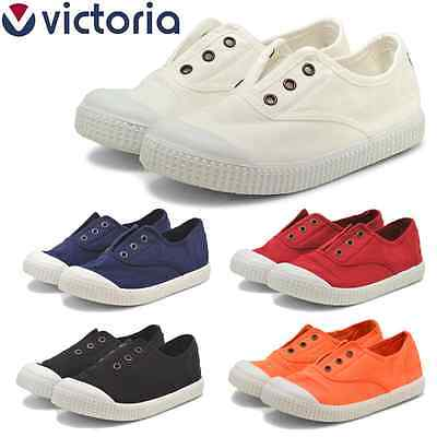 arrebatar módulo desconocido  VICTORIA KIDS SLIP ON SNEAKERS INGLESA LONA TENIDA BABY CANVAS SHOES  CONVERSE | eBay