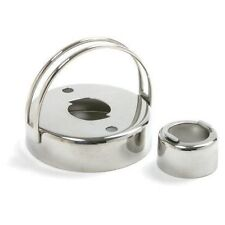 NEW NORPRO 3496 STAINLESS STEEL COOKIE AND DONUT CUTTER WITH REMOVEABLE CENTER