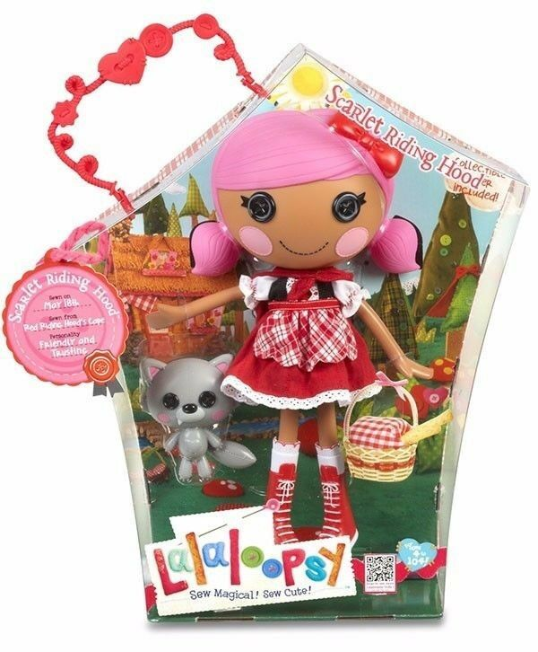LALALOOPSY SCARLET RIDING HOOD  BRAND NEW