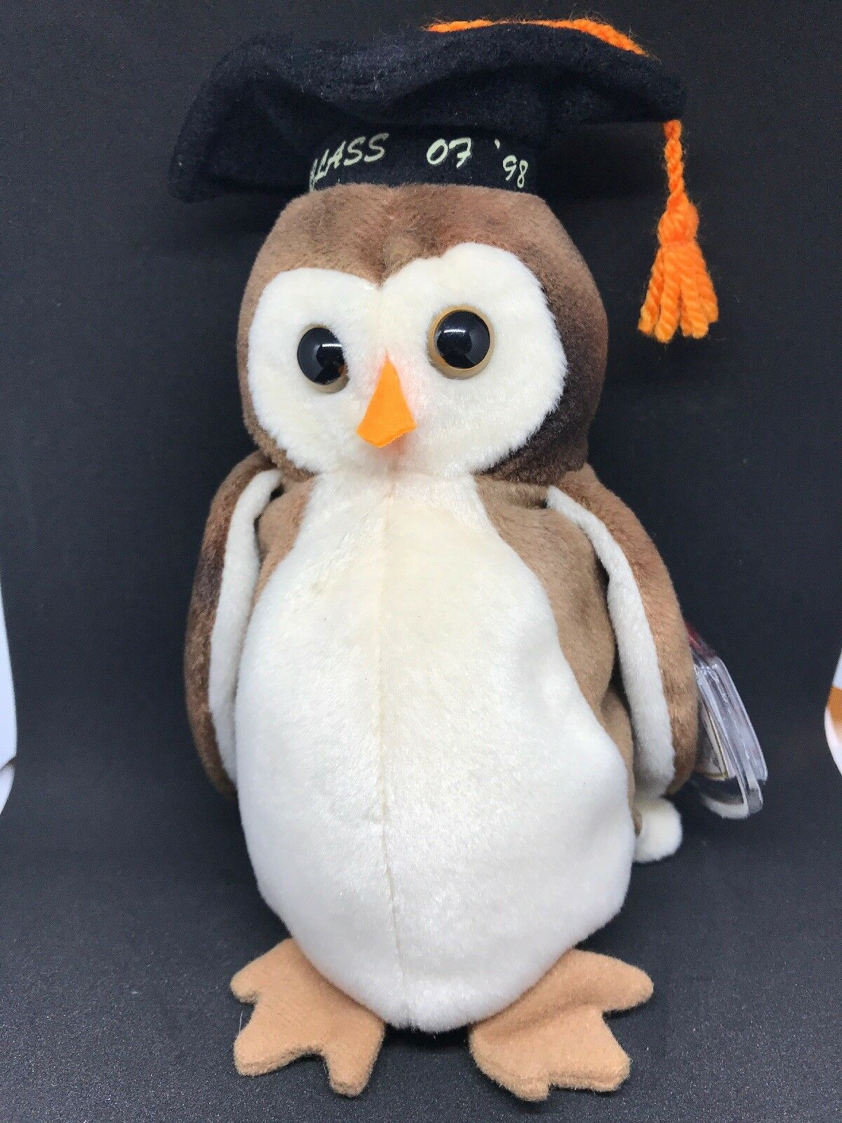 TY Beanie Baby  WISE Graduation Owl Class Class Class of 1998  NEW with Tags Retired d5ac1c