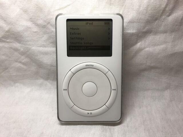 Prototype Apple iPod Classic P95 TVP 1st Génération Blanc Avec Rouge board (5 Go)