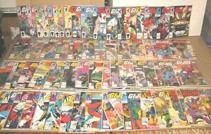 Lot of 62 GI JOE COMICS Starting at #50 Thru #131 - Scattered Dates/Issues YOWZA