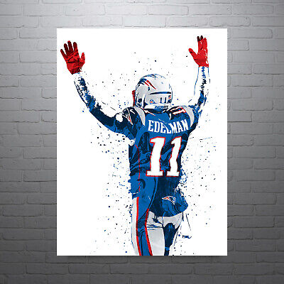 Julian Edelman New England Patriots FREE US SHIPPING