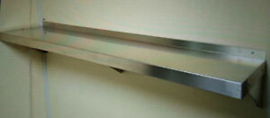 900 300mm or 35 12 inch stainless steel wall shelf for 200mm wide kitchen wall unit