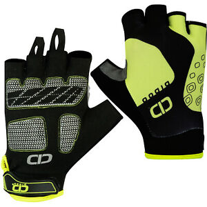 GIANT Half Finger Cycling Gloves Bike Bicycle Gel Padded Fingerless Cycle Gloves