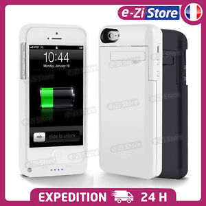 COQUE CHARGEUR BATTERIE EXTERNE HOUSSE SUPPORT IPHONE 7/6/5/5S/4S 2200-3200mAh