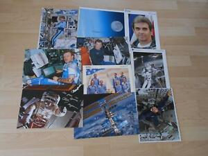 NASA/ESA  10x Litho/Photo alle original signert Space