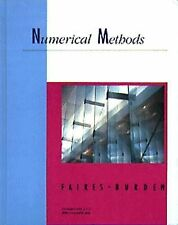 Numerical Methods/Book and Disk With Instructional Manual (Kent Series-ExLibrary