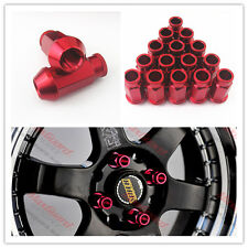 Brand New 20 Pcs Red Wheel Lug Nuts Kit Set M12 x 1.5MM For Honda Civic Accord