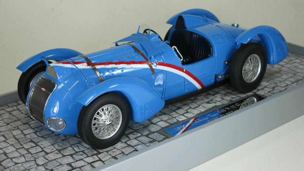 1 18 MINICHAMPS Delahaye Typ 145 Grand Prix 1937 bluee ITEM 107116100