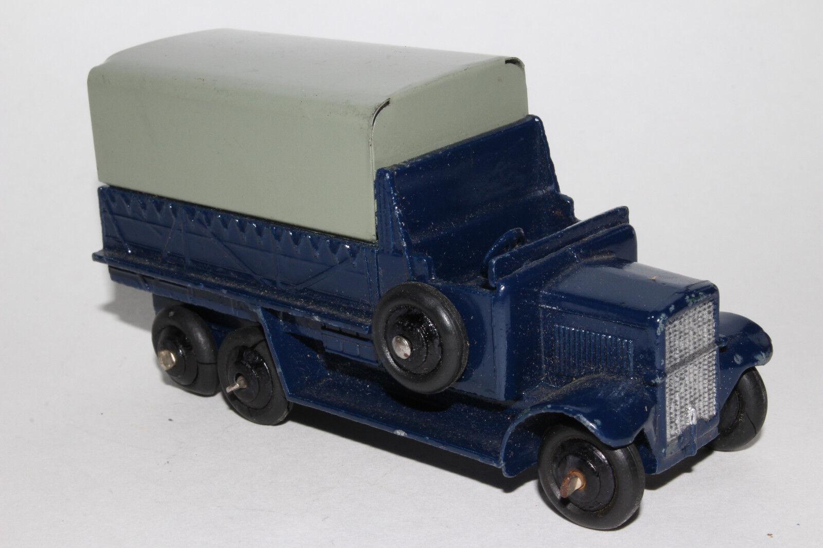 Dinky 25s, 591ms Couvert Wagon Civil Camion, Agréable Original