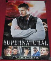Supernatural Original Promotional Television Poster 24x36 Dean Winchester Tv