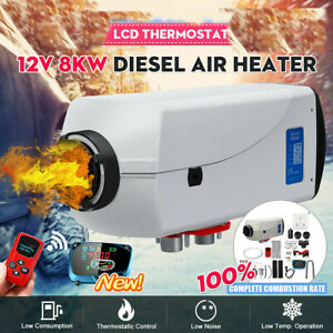 Warmtoo-8000W-12V-Air-Diesel-Parking-Heater-LCD-Thermostat-Car-Truck-Boats-US