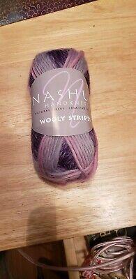 20/% Off Nashua Handknits Wooly Stripes  Yarn-#07