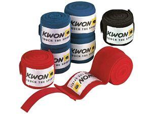 Unelastische Bandagen von Kwon. Boxen, Kickboxen, Muay Thai, MMA, BJJ  4,5m lang