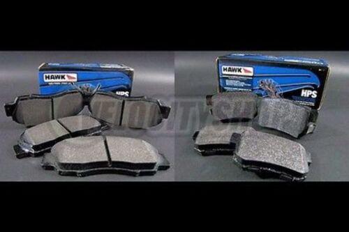 Hawk HPS Brake Pads Front /& Rear 94-01 Integra GSR LS