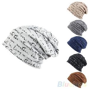 LC-UOMO-DONNA-Favorite-HIP-HOP-caldo-inverno-maglia-di-cotone-Cappellino-da-sci