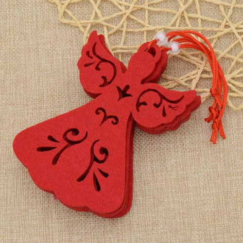 5pcs Angel Hanging Christmas Tree Ornament Handcraft Party Decoration Xmas Gift