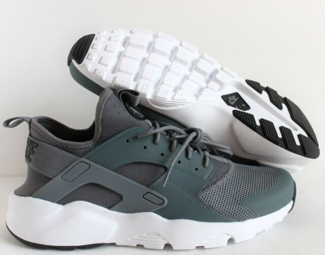 815a29afe5e2 Authentic Nike Air Huarache Run Ultra Cool Grey Black White 819685 ...