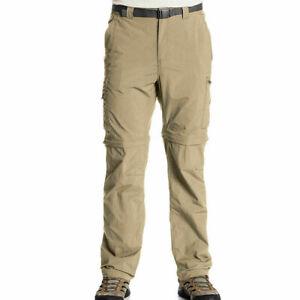 Columbia Silver Pantalones de senderismo para hombre