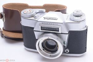 VOIGTLANDER-BESSAMATIC-READ-35MM-SLR-FILM-CAMERA-BODY-4-PARTS-OR-REPAIR