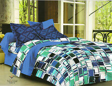 Valtellina Pure Cotton 1 King Size Bedsheet with 2 pillow Covers -TR_LV-013