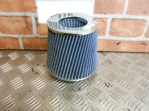 CONICAL-PERFORMANCE-AIR-INTAKE-FILTER-CHROME-amp-BLUE-FORD-VAUXHALL-CITROEN-VW