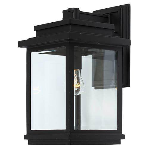Lámpara de Parojo al Aire Libre de Iluminación Fremont bolsillo, Negro ac8390bk Artcraft
