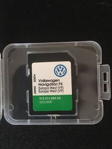 Details about 2019 VW SKODA SEAT RNS 310 AMUNDSEN V9 SD CARD FX WEST EUROPE  NAVI V10 V11