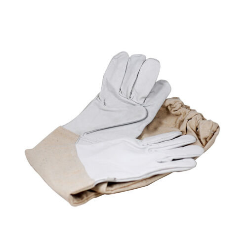 SALE -1 Pair Garden Long Sleeved Gloves Leather Gloves small