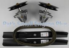 "Sears Craftsman / MTD 46"" Lawn Mower Deck Spindle, Std Blade, Belt kit, LT2000"
