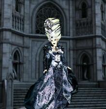 Haunting Queen Marie Antoinette Gothic Dark Goth ~ Barbie doll OOAK Dakotas Song