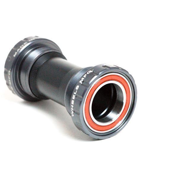 Wheels MFG BB For BS Threaded Frame Angular Contact Bearings 68 mm x 24 mm Grau