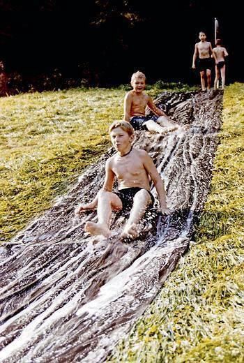 slip and slide sheet heavy duty red 22ft long