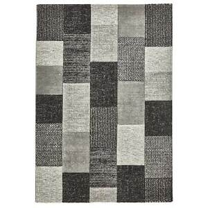 Patches-New-Hand-Carved-Rugs-Silver-Grey-amp-Charcoal-Large-160-x-220cm