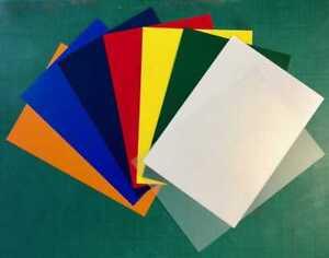 4-x-A3-Mixed-Colours-Polypropylene-Plastic-Sheet-0-5mm-Model-Making-Art-Craft