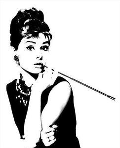 Audrey Hepburn Classic Pop Art Canvas Print | eBay