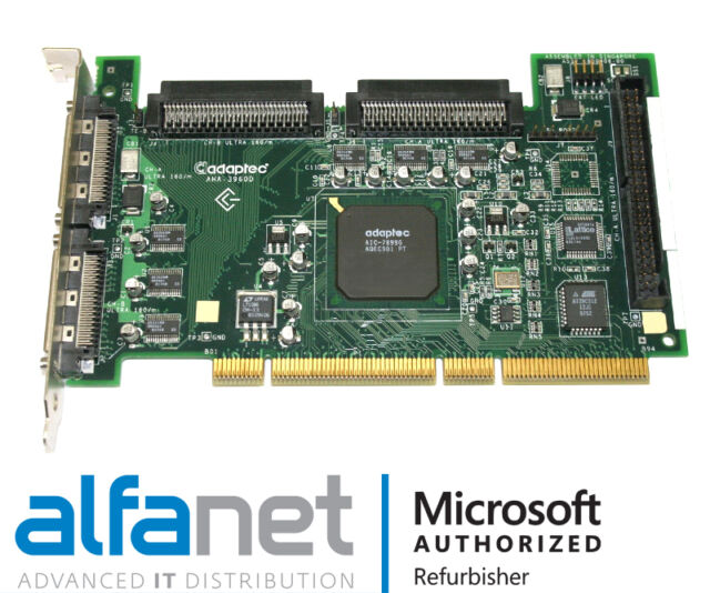 ADAPTEC 3960D ULTRA160M PCI SCSI DRIVER FOR WINDOWS 7