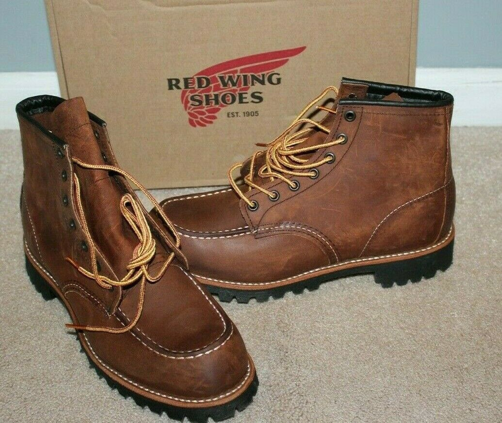 Red Wing for J.Crew Roughneck Men's Boots Size 8.5 YUMA, NEW shoes G8897