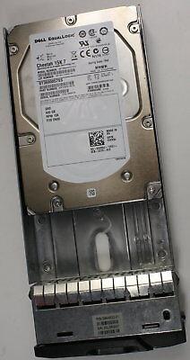 "Dell EqualLogic 600GB 15k 3.5/"" SAS HDD Seagate ST600057SS 9FN066-057 0VX8J tray"