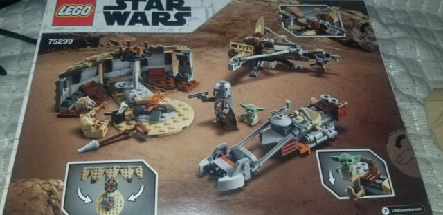 LEGO Star Wars: The Mandalorian Trouble on Tatooine set 75299 in hand brand new