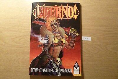 Luminosa Gw Inferno Tales Of Fantasy & Avventura-issue 8 1998 Ref:1525-mostra Il Titolo Originale Sconti