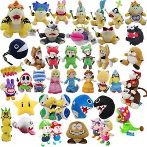 Super Mario Series Character Stuffed Animal Plush Toy Collection