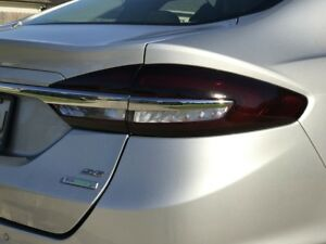 Image Is Loading 2017 2018 Ford Fusion Tail Light W White