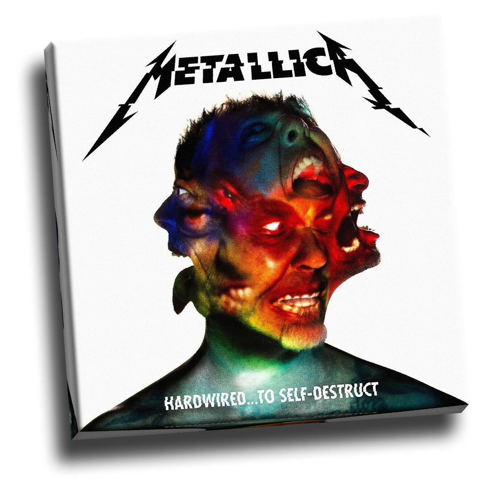 I Metallica programmati per Auto-Distruzione Giclee su tela arte ALBUM FOTO DI COPERTINA